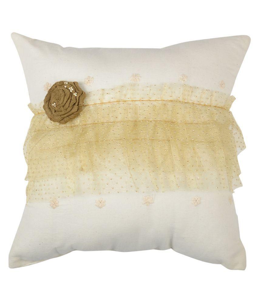 Karmaviolets Home Decor Set Of 2 Cotton Cushions Buy