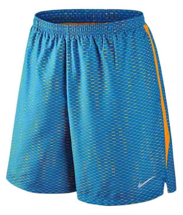 Nike Blue 7 Inch Challenger Fuse Shorts for Men