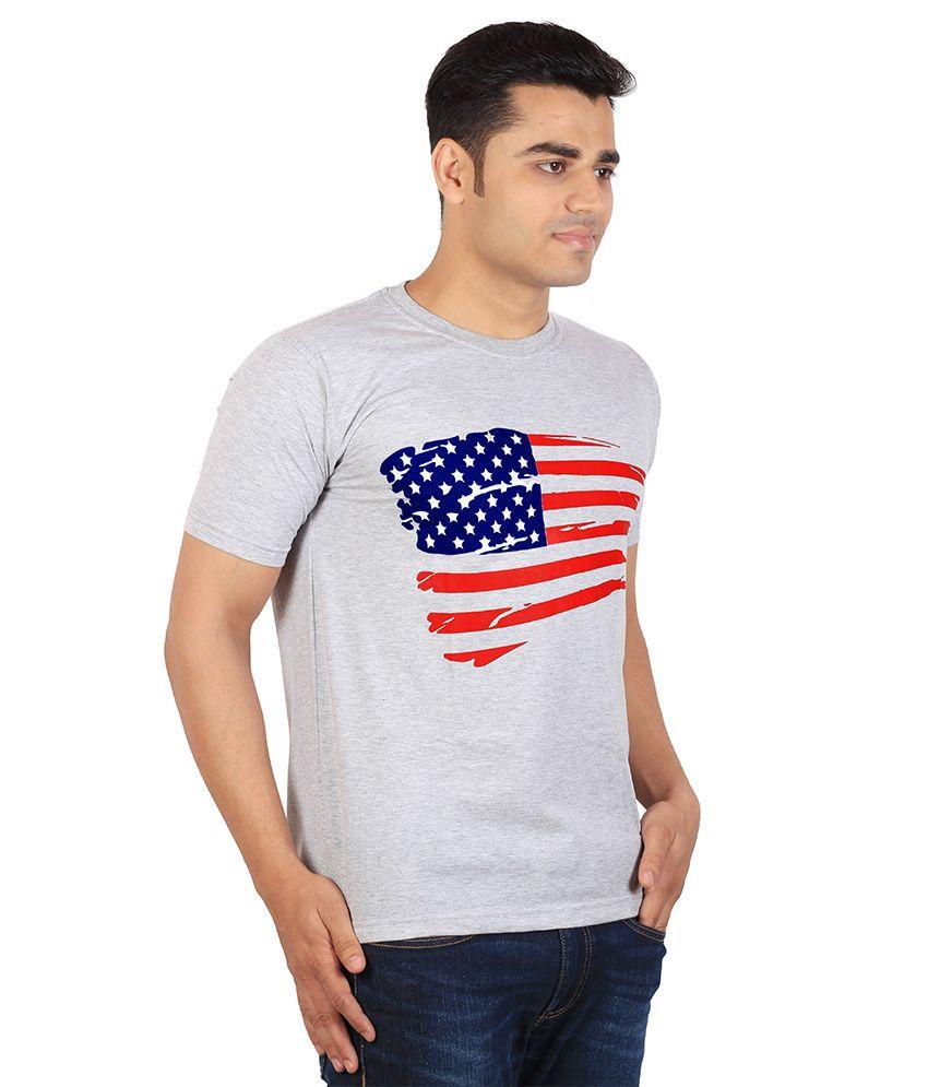 3f36042472f59d Tymstyle American flag T-shirt - Buy Tymstyle American flag T-shirt Online  at Low Price - Snapdeal.com