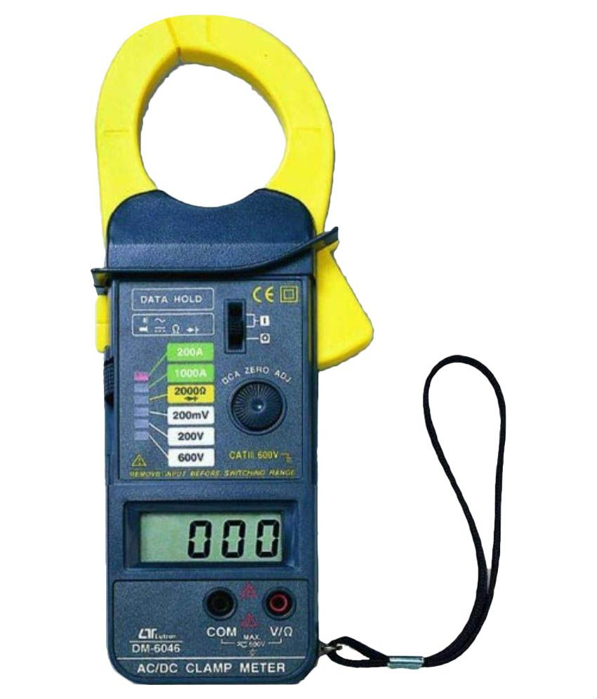 8fbd001abebe Lutron Electronic 1000A DCA ACA Clamp Meter  Buy Lutron Electronic 1000A  DCA ACA Clamp Meter Online at Low Price in India - Snapdeal