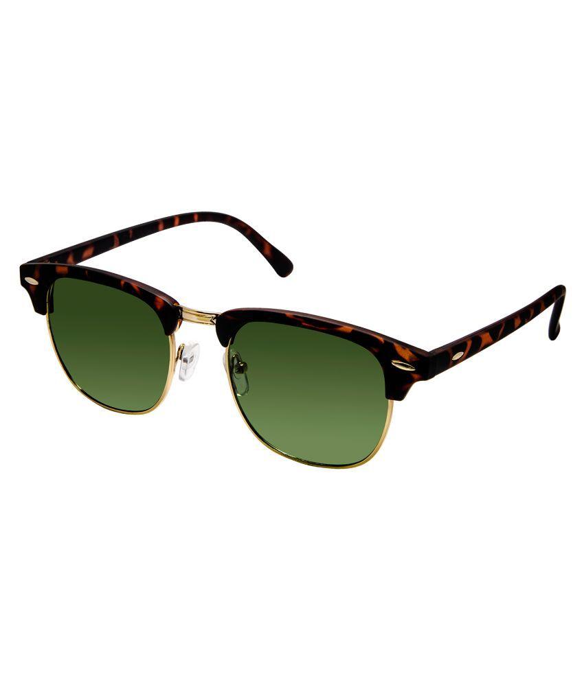 Cardon Green Clubmaster Sunglasses ( 7035 )