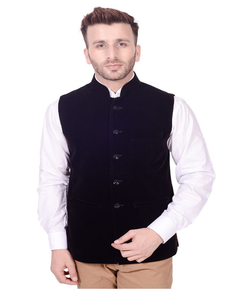 Lee Marc Black Party Waistcoats