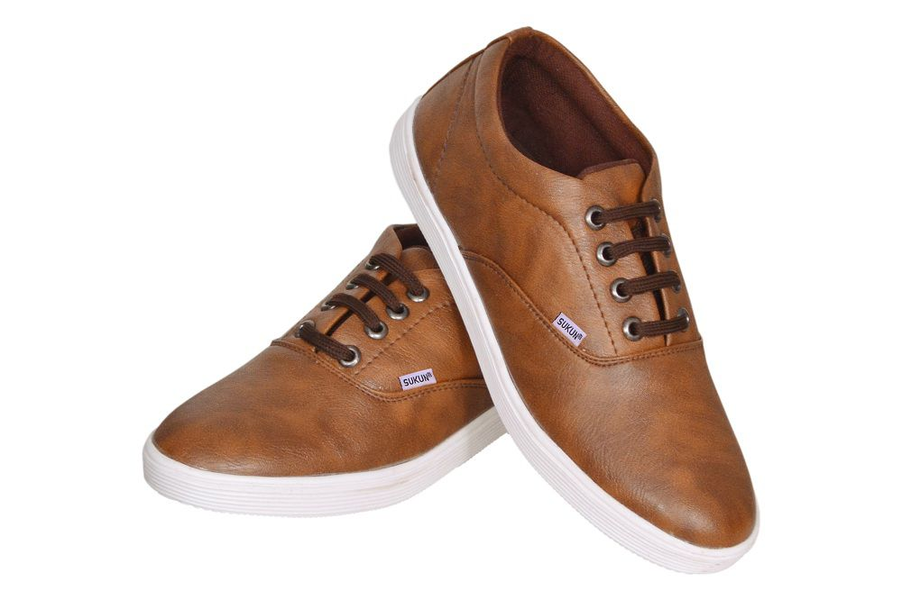 Sukun Brown Casual Shoes