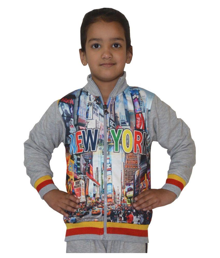 Shaun Multicolour Woolen Sweatshirt