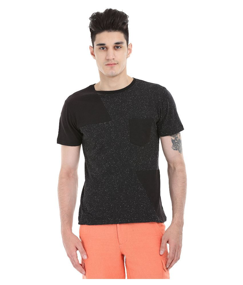 Zobello Black Round T Shirt
