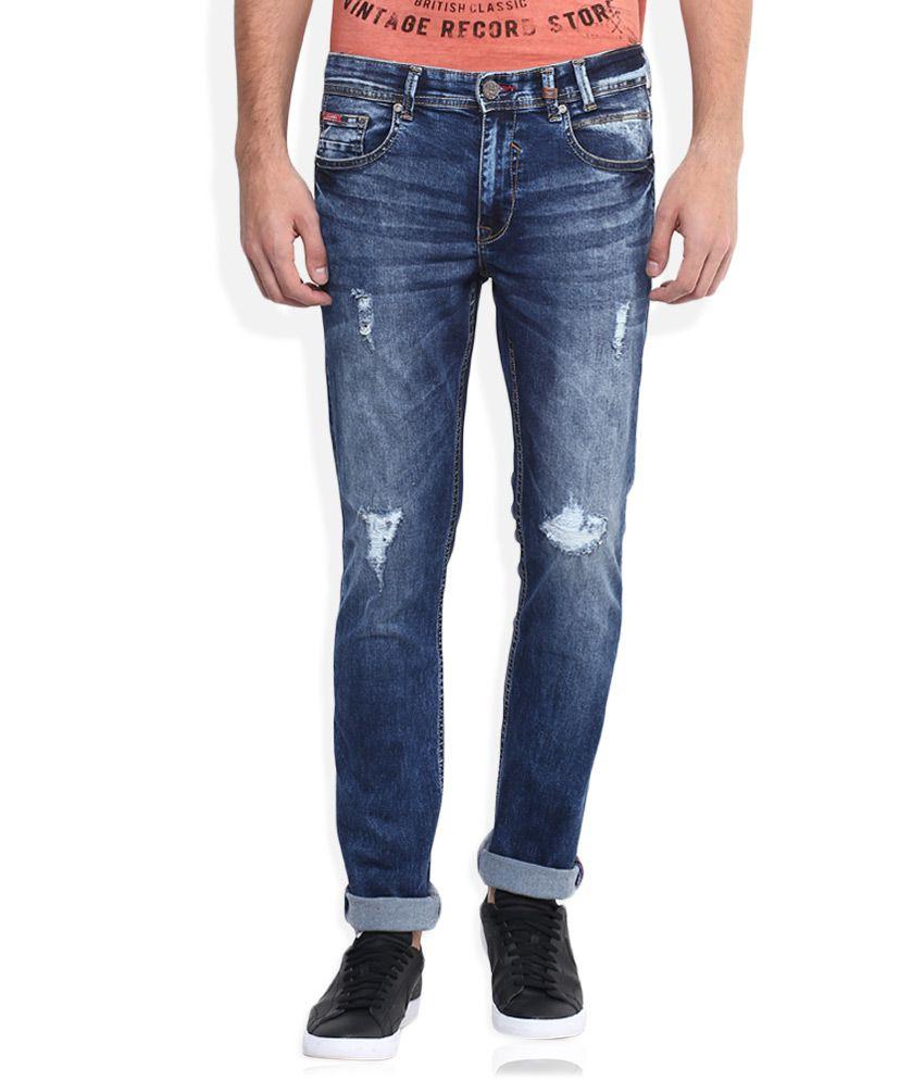 Lee Cooper Blue Skinny Fit Jeans