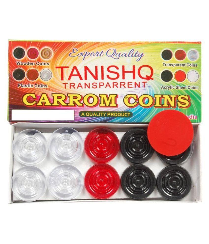 Sagar PVC Carrom Coins