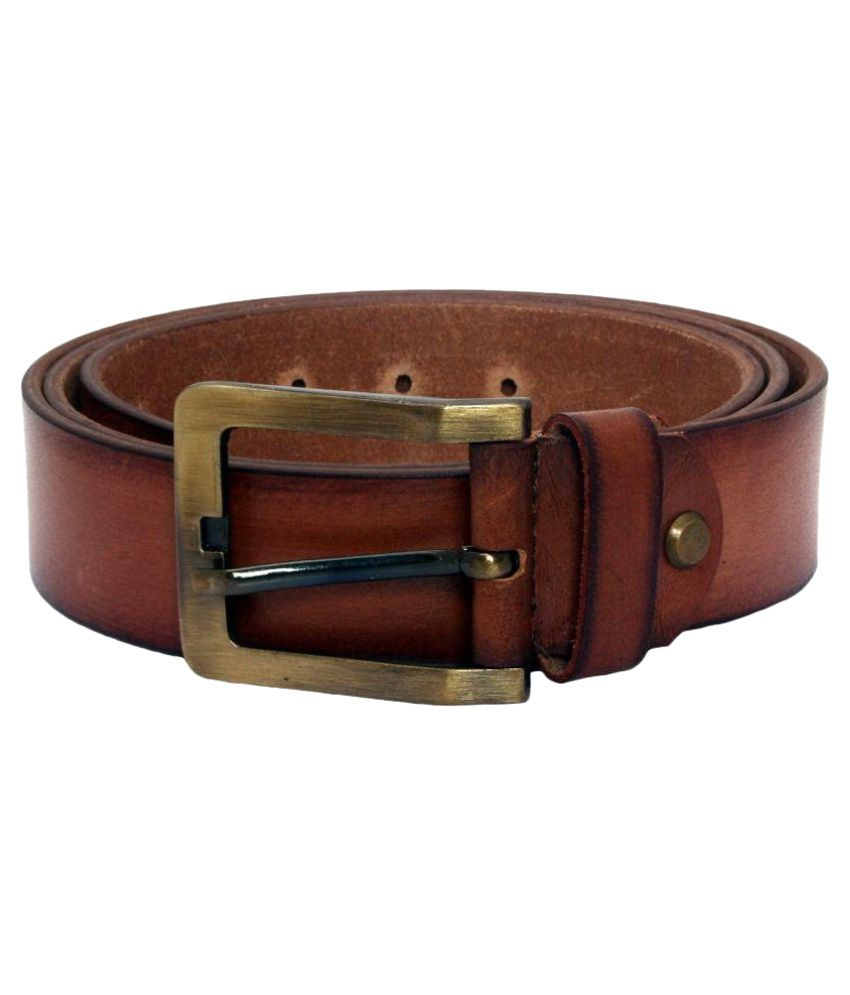 TechTradition Brown Leather Belt