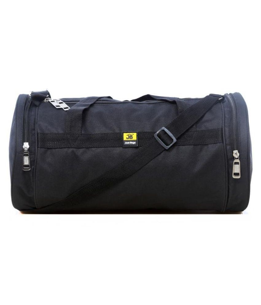 Just Bags Duffle Bag BLACK Gym Bag