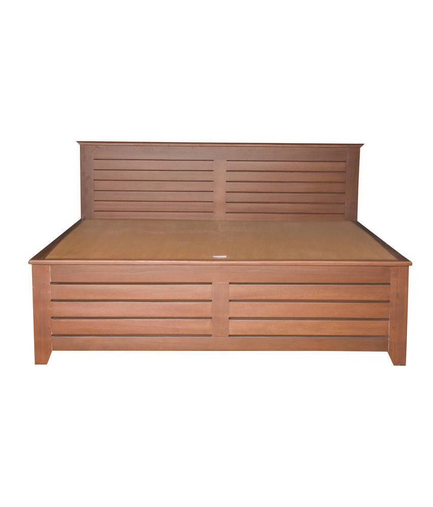 Universal Doors Solid Wood King Size Hydraulic Storage Bed