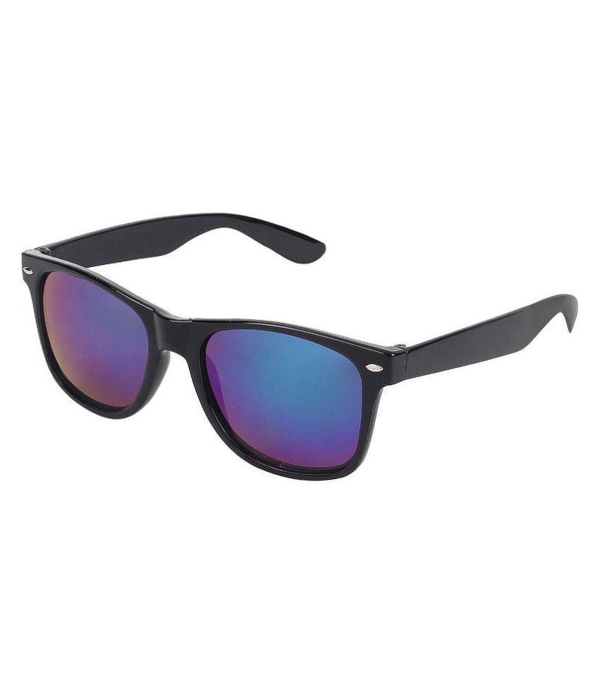 Zyaden - Blue Square Sunglasses ( way12 )