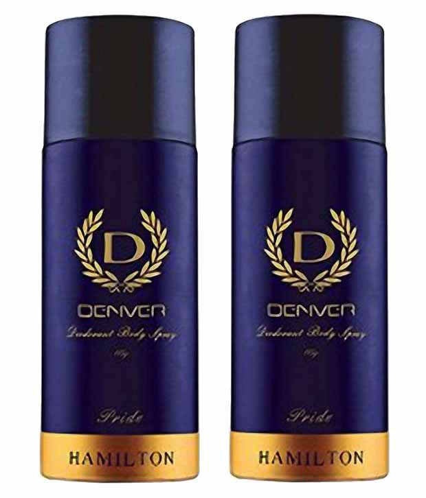 6b528f6c1eb8 Denver Pride Hamilton Deodorant - 165ml (Pack of 2): Buy Online at Best  Prices in India - Snapdeal
