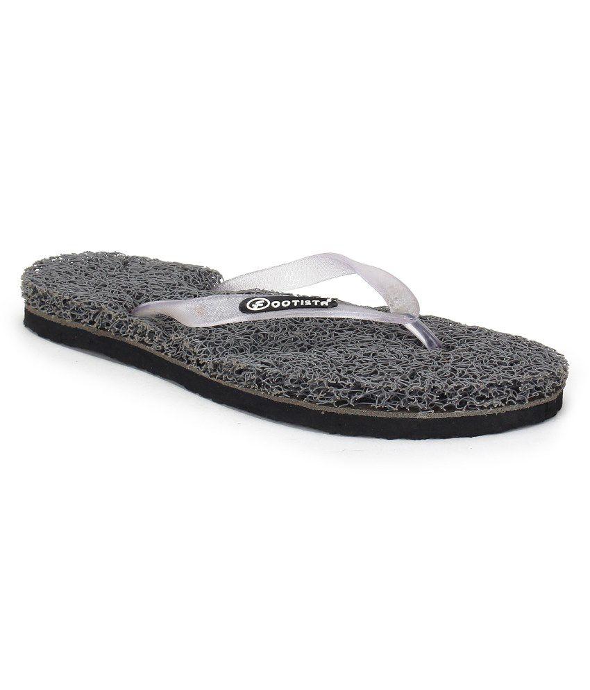 Footista White Flip Flops