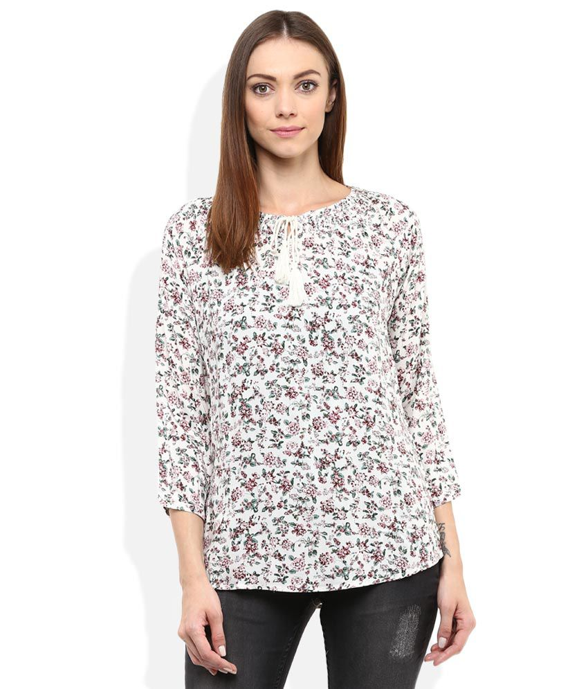 Lee Cooper Multi Color 3|4th Sleeves Round Neck Dresses