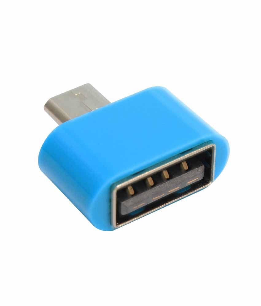 Red Knight Blue Micro USB Adapter