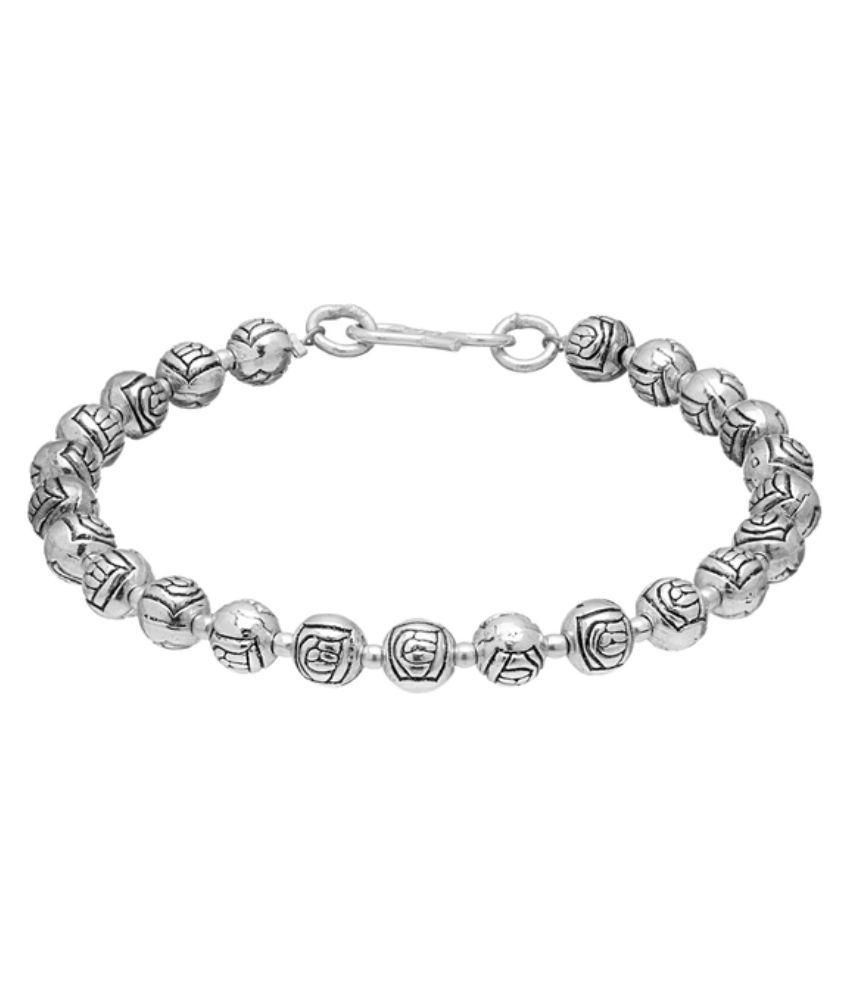 D&D Silver Designer Bracelet