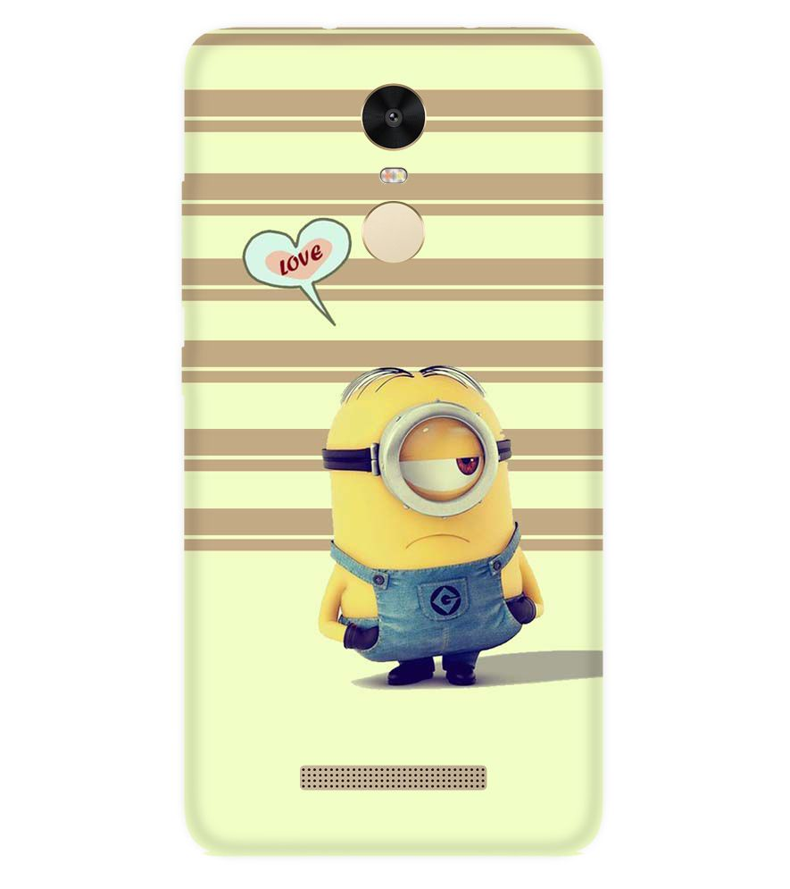 info for 21e14 9280f Xiaomi Redmi Note 3 MINION Designer Back Cover Case by PRINTSWAG