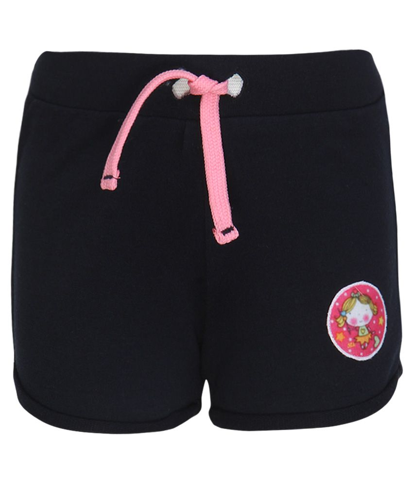 Little Kangaroos Navy Cotton Shorts