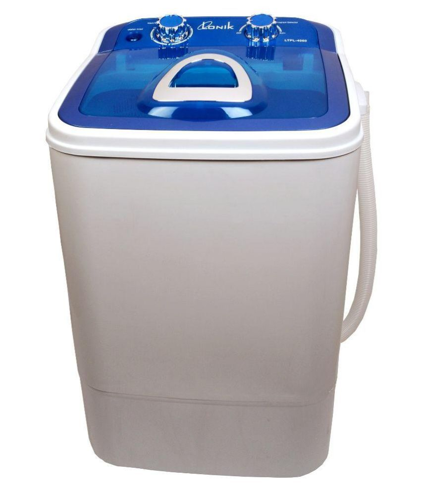 Lonik Upto 6 Kg LTPL-4060 Semi Automatic Semi Automatic Top Load Washing Machine Blue