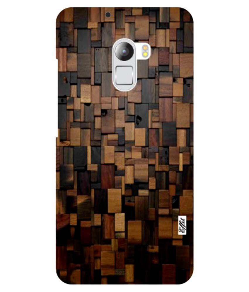 the latest 8e160 a607e Lenovo K4 Note Wood Art Phone Cover Multi Color