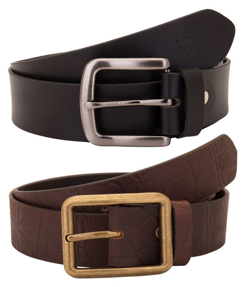 Valbone Multicolour Leather Belt for Men