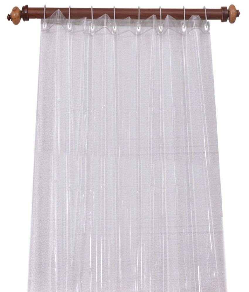 E Retailer 030mm PVC AC Door Transparent Curtain