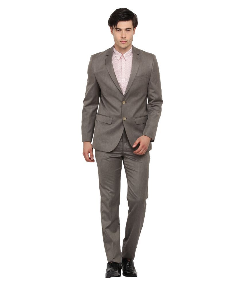 Envoy Grey Casual Suits