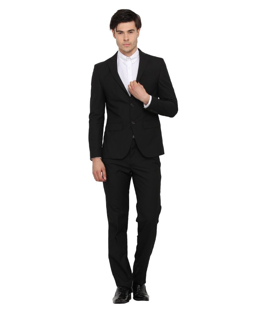Envoy Black Casual Suits