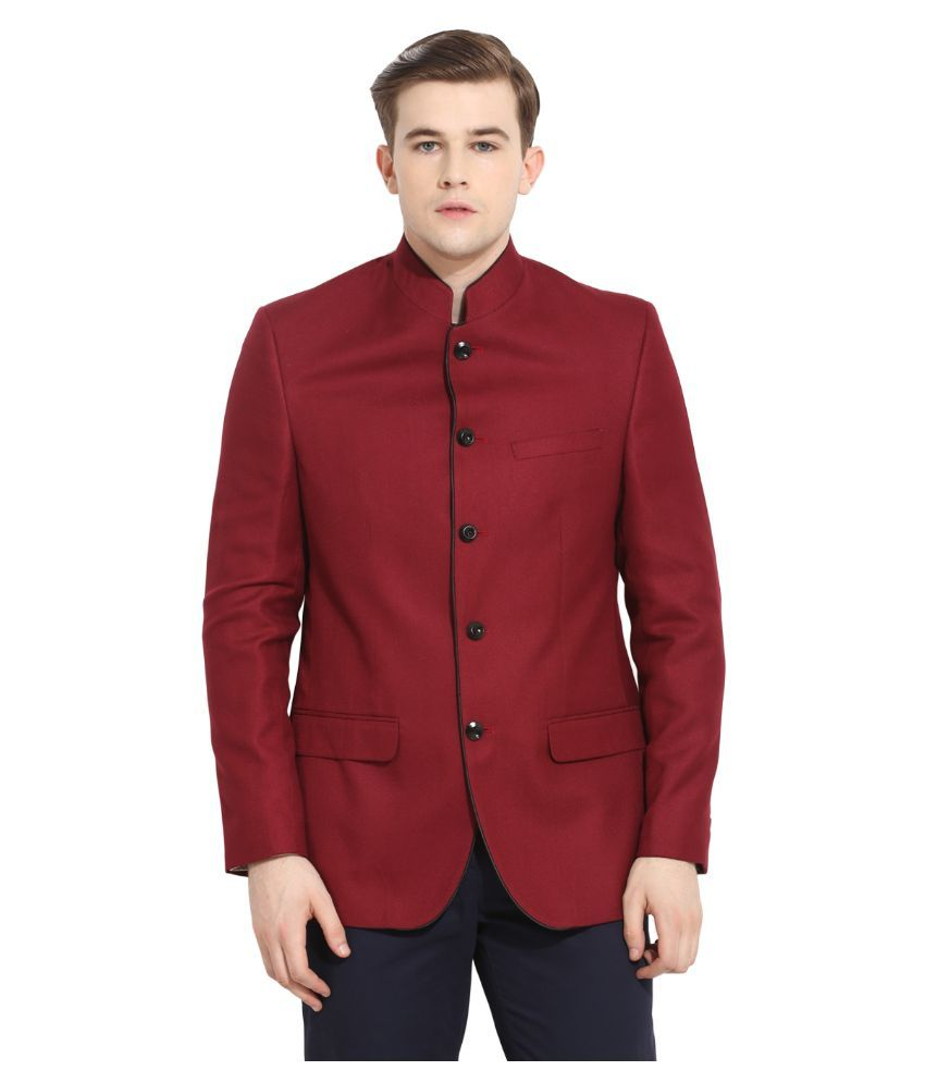 Envoy Red Casual Blazers