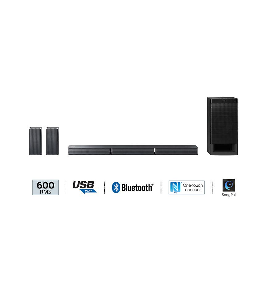 5b053dbae48 Buy Sony HT-RT3 Real 5.1ch Dolby Digital Soundbar Home Theatre System (600  W) Online at Best Price in India - Snapdeal