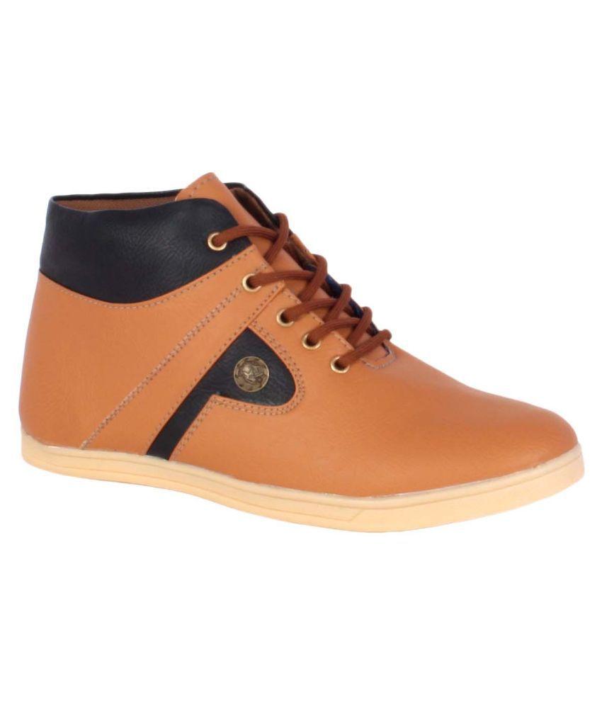 1Aarow Tan Boots
