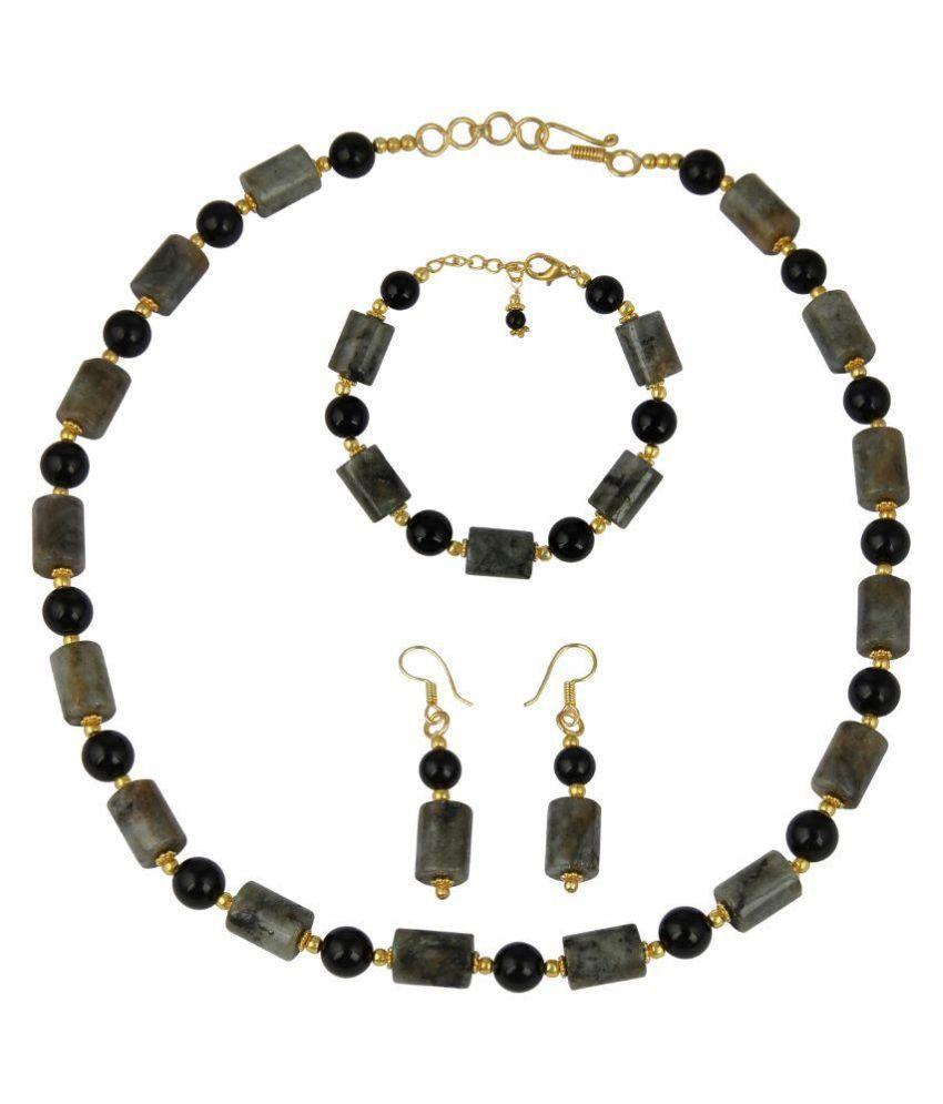Pearlz Ocean Multicolour Alloy Necklaces Set