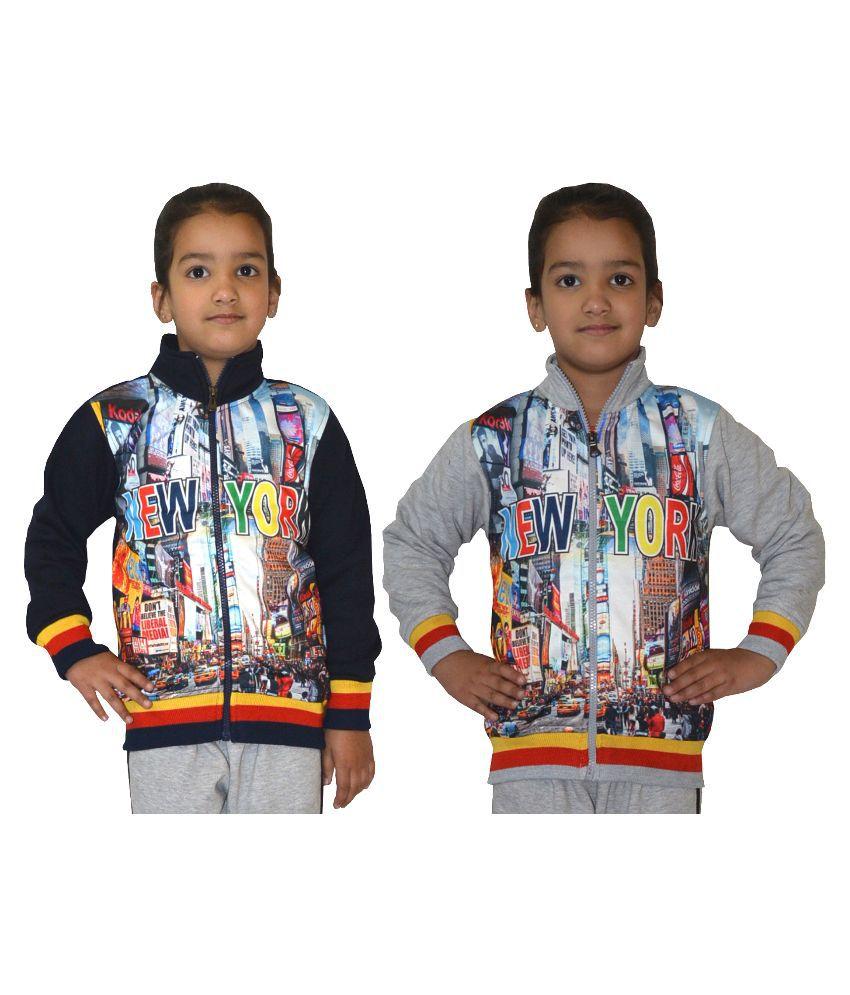 Shaun Multicolor Wollen Sweatshirt