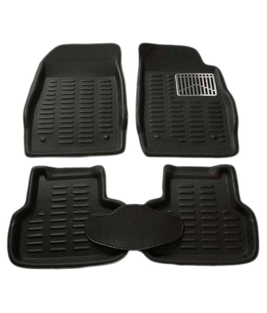3d Car Floor Mat- Black (set Of 4) For Hyundai I-20/ I-20 New