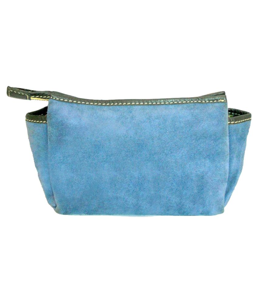MNM Blue Solid Casual Wallet