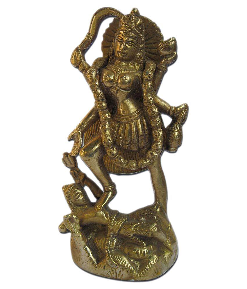 Dakshcraft Durga Brass Idol