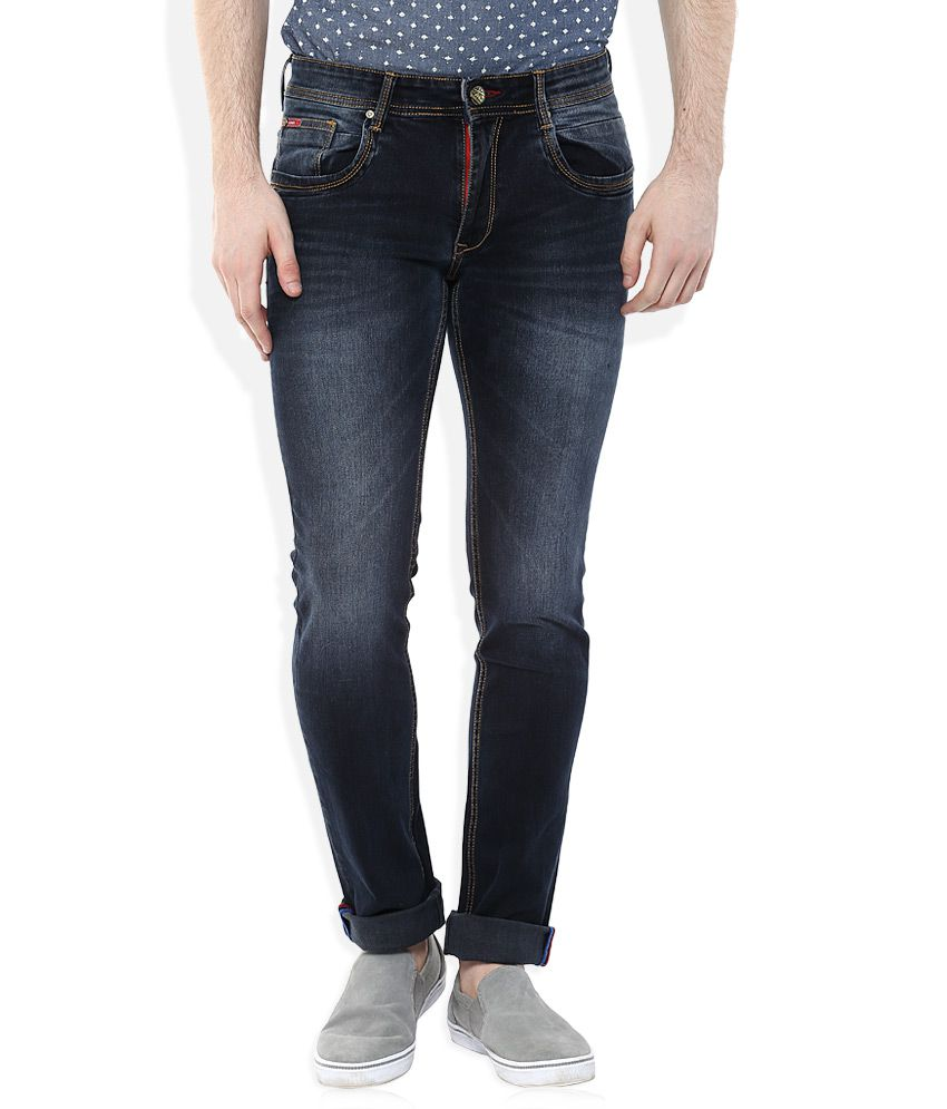 Lee Cooper Blue Slim Faded
