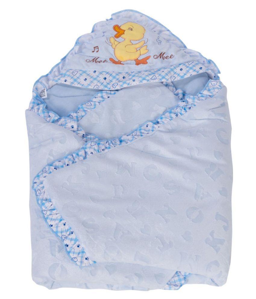 Mee Mee Blue Baby Wraps
