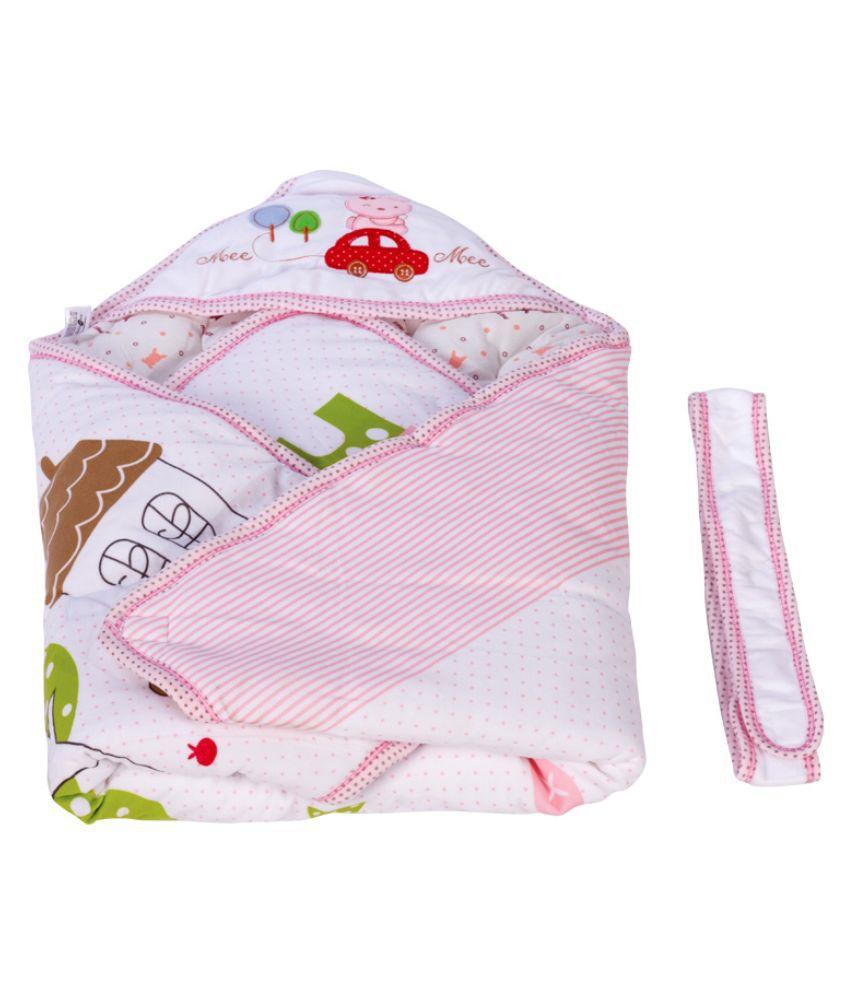 Mee Mee Pink Baby Wraps