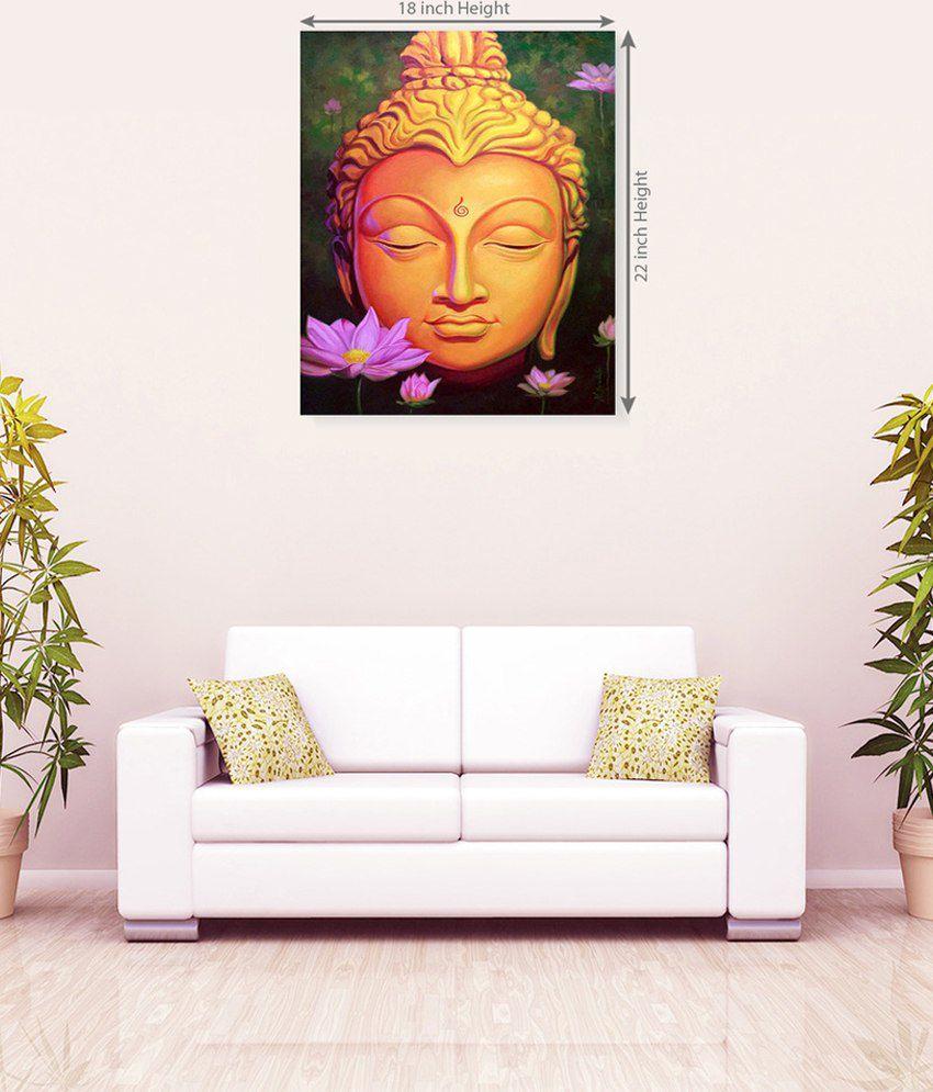 Sky Trends God Buddha Beautiful Canvas Painting