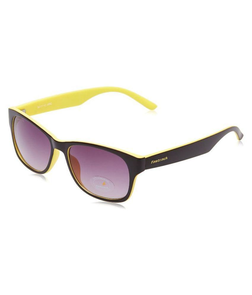 baba2f23c736 Fastrack Purple Wayfarer Sunglasses ( PC001BR26 ) - Buy Fastrack Purple Wayfarer  Sunglasses ( PC001BR26 ) Online at Low Price - Snapdeal