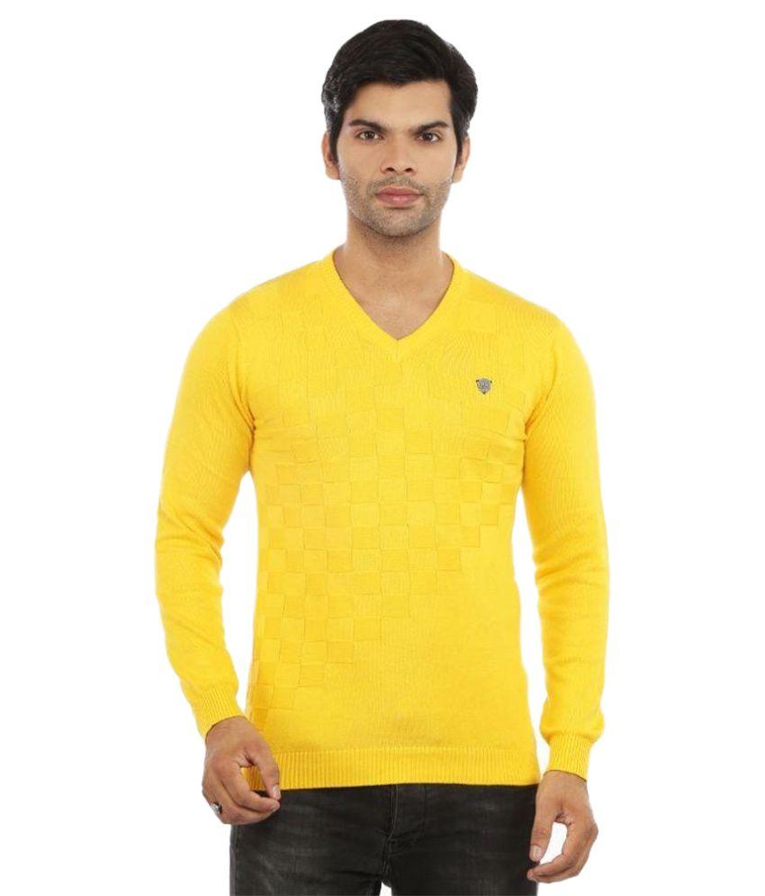 Got It Yellow V-Neck T Shirt