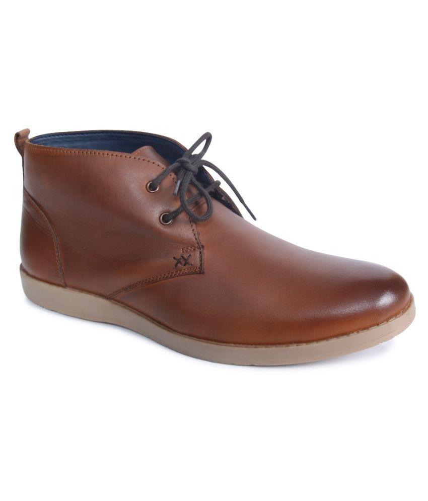 Monkx Brown Boots