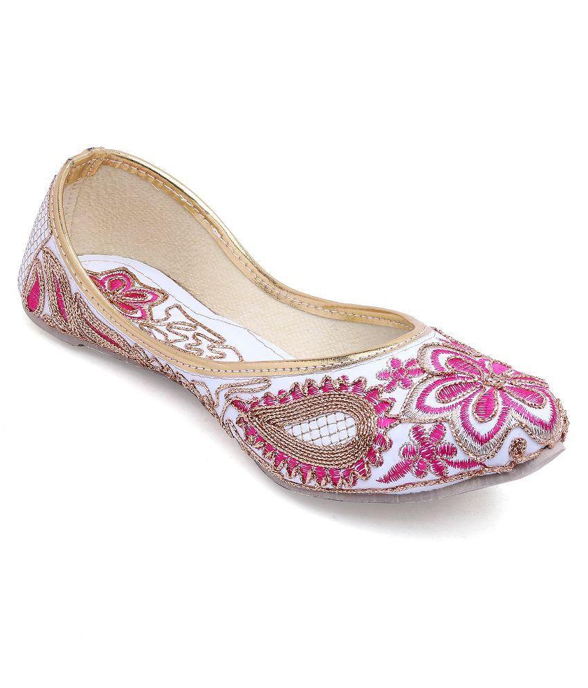 Vinayak Collection Pink Flats