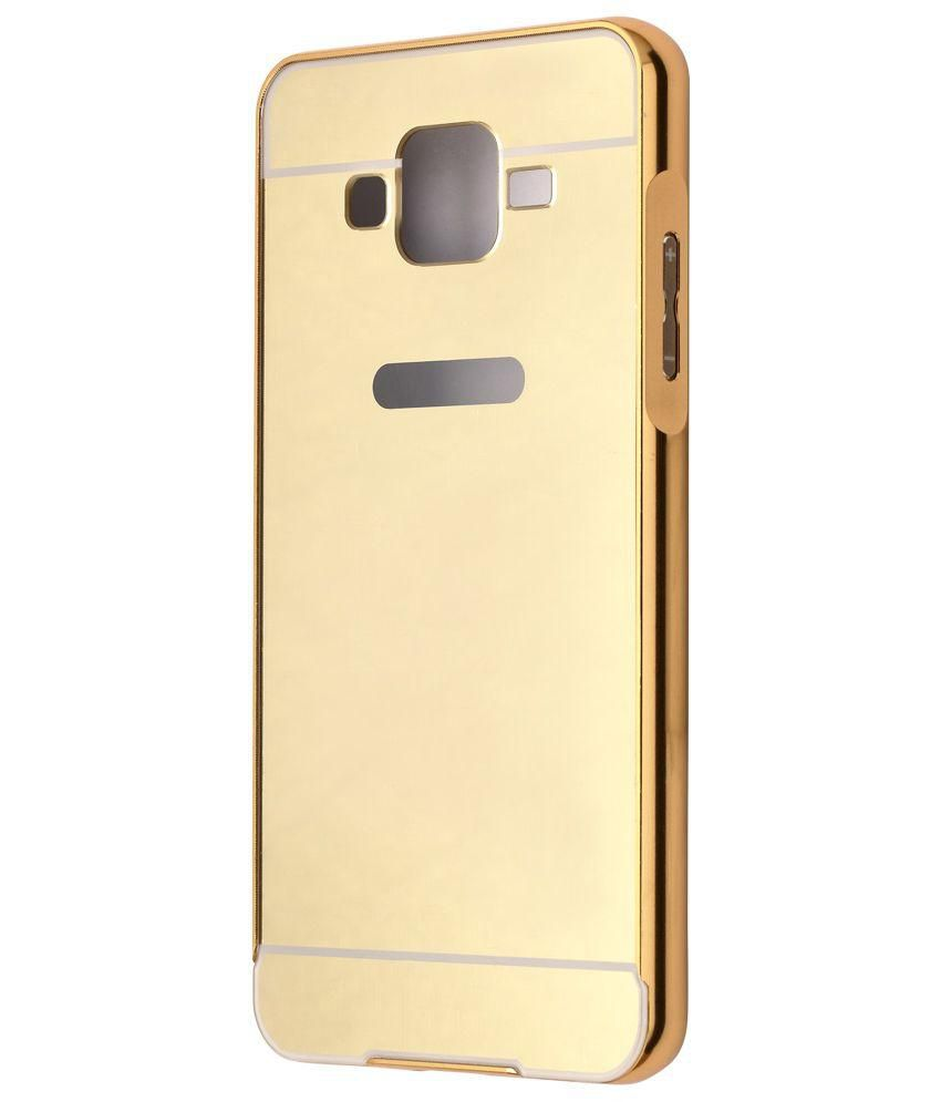 new style ca258 66bdb Samsung Galaxy J7 Cover by Tecozo - Golden