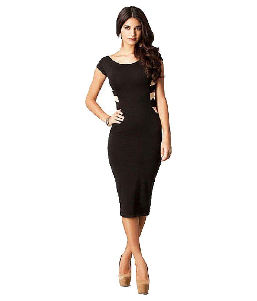 Короткие вечерние платья черные