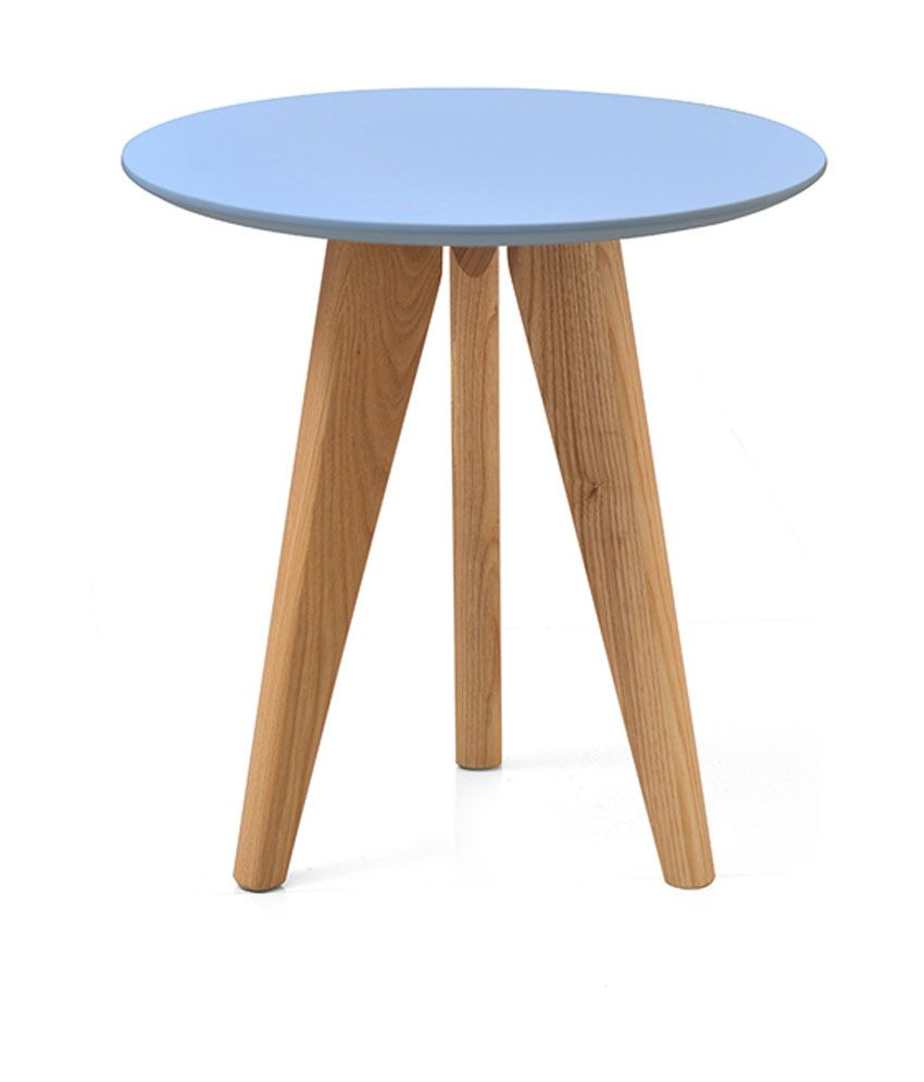 Kings Crafts Vats Solid Wood Side Table