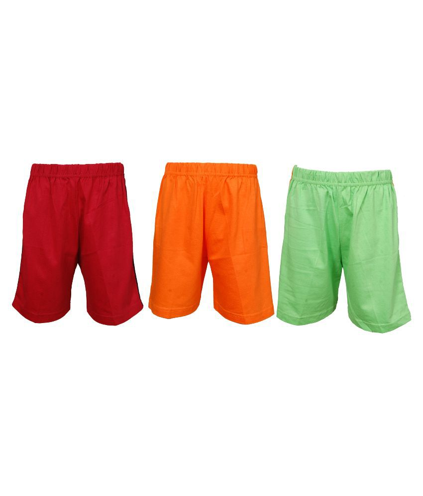 Little Stars Multicolor Shorts for Girls