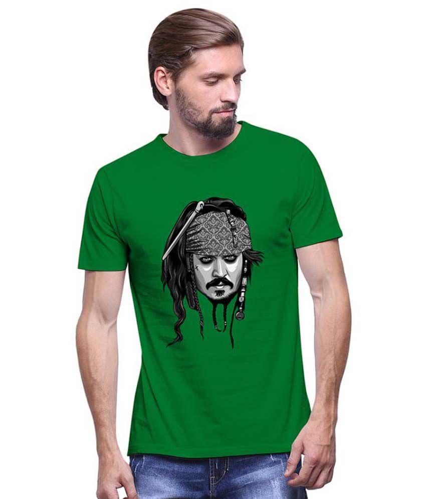 Uptown 18 Green Round T Shirt