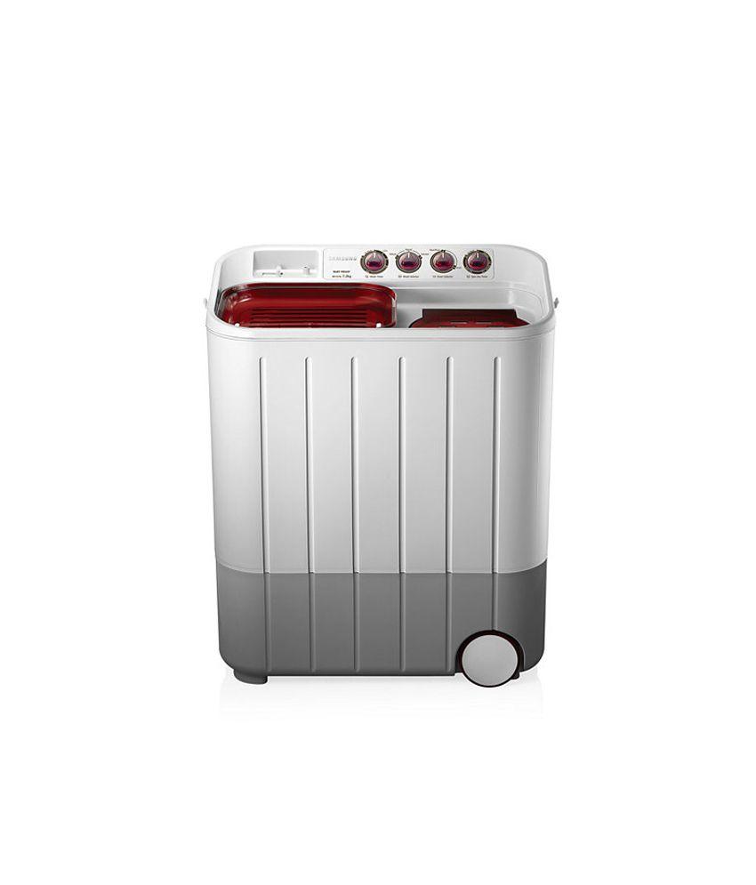 Samsung WT727QPNDMW/TL Semi Automatic Washing Machine